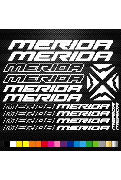 Sticker Masters Merida Bisiklet Sticker Set Etiket