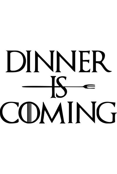 Sticker Masters Dinner is Coming Mutfak Sticker
