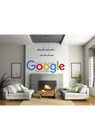 Sticker Masters Google Logo Ofis Duvar Sticker