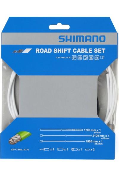 Shimano Vites Kablo Set Ot-Sp41 Optislick Beyaz
