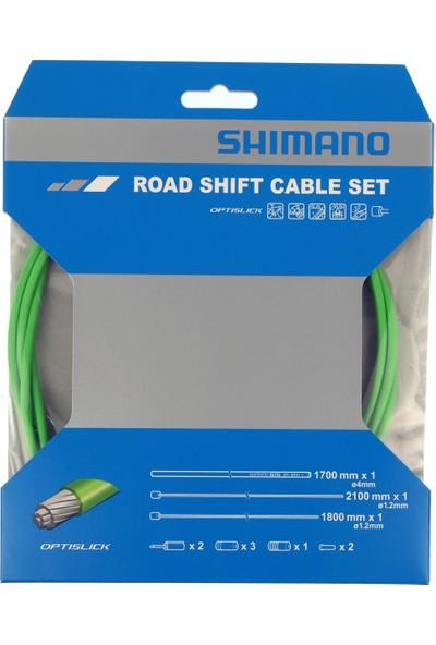 Shimano Vites Kablo Set Ot-Sp41 Optislick Yeşil