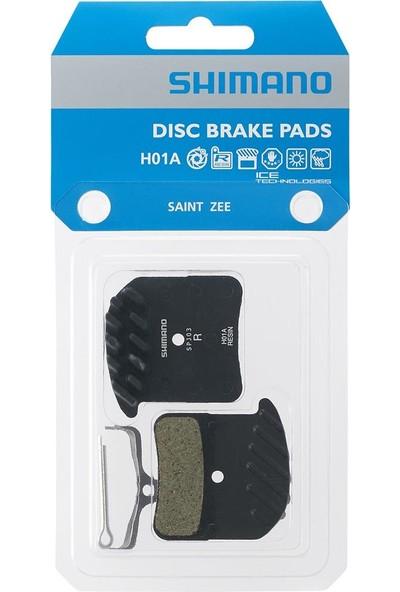 Shimano Disk Fren Balatası ( Papuç ) Resin H01A W/Fin Spring W/Split Pin