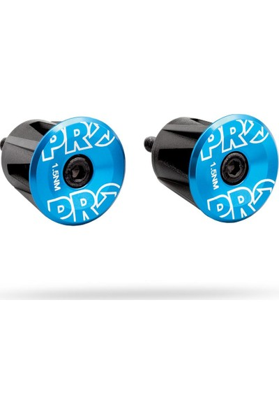 Shimano Pro Handlebar Endplug Blue Anodized Alloy