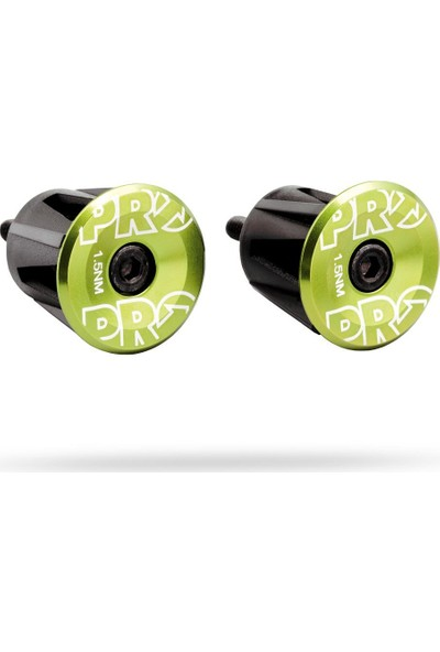 Shimano Pro Handlebar Endplug Green Anodized Alloy
