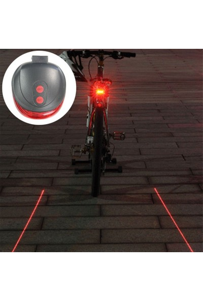 Plus Bisiklet Led Lazer Stop