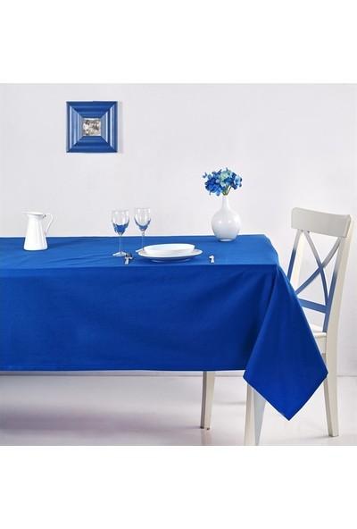Denizli Concept Roma Masa Örtüsü 170X170 Mavi