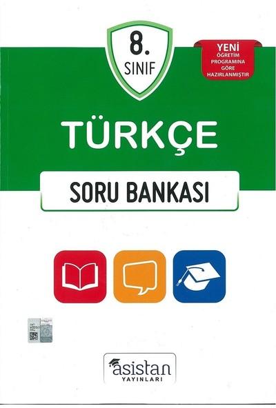 Asistan Yayınları 8.Sınıf Türkçe Soru Bankası