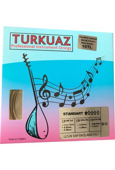 Turkuaz Bd120 0.20 Mm Çelik + Bamlı Takım Tel Uzun Sap Bağlama Teli 020