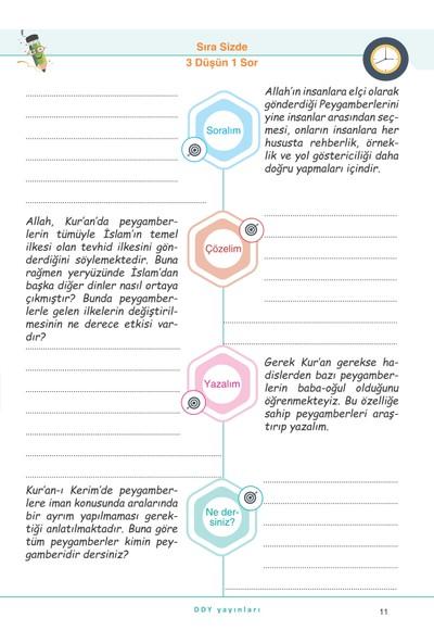 Ddy Yayınları 6.Sınıf Din Kültürü Ve Ahlak Bilgisi Yetenekli Defter