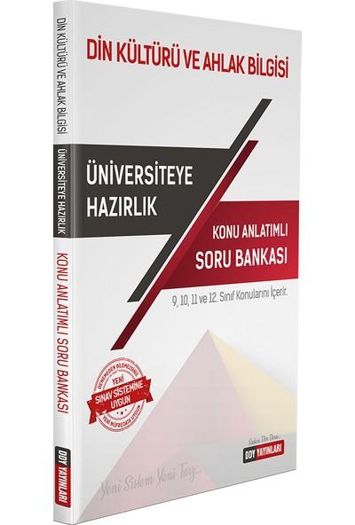 Ddy Yayınları Yks Tyt Ayt Din Kültürü Ve Ahlak Bilgisi Konu Anlatımlı Soru Bankası