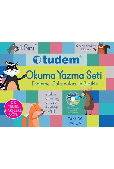 Tudem Yayınları 1.Sınıf Okuma Yazma Seti