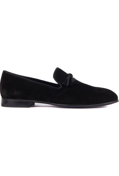 Sail Laker's Siyah Süet Erkek Ayakkabı