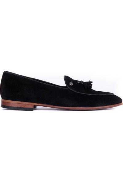 Sail Laker's Siyah Erkek Günlük Süet Ayakkabı