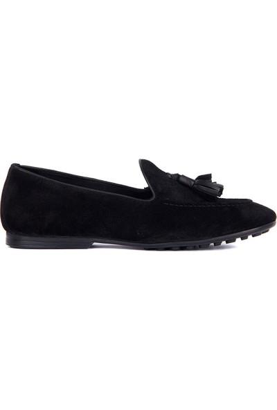 Sail Laker's Siyah Süet Erkek Günlük Ayakkabı