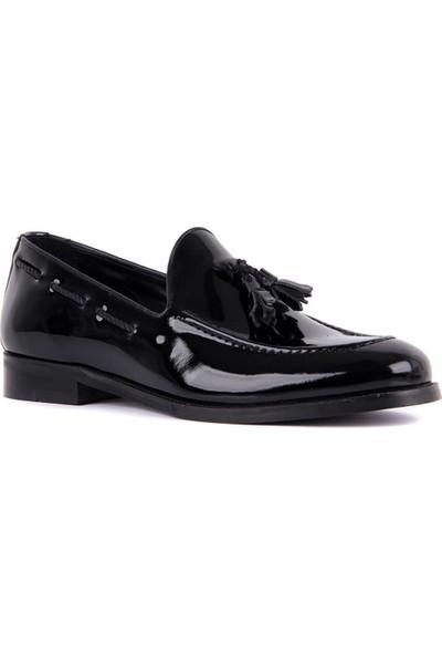 Sail Laker's Siyah Erkek Günlük Rugan Ayakkabı
