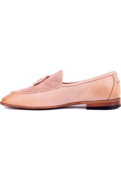Sail Laker's Pudra Erkek Günlük Deri Ayakkabı