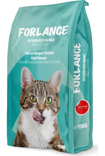 Forlance Cat Adult Sterilised Kısırlaştırılmış Yetişkin Kedi Maması 15 kg