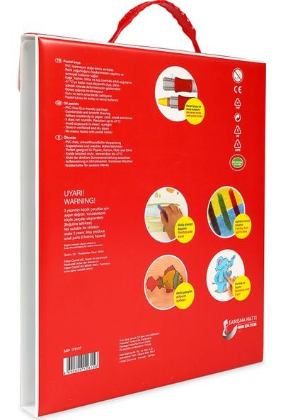 Faber-Castell Plastik Çantalı Tutuculu Pastel Boya 36 Renk