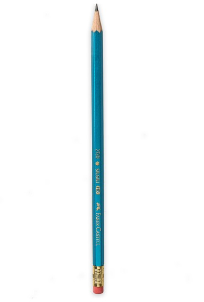 Faber-Castell Köşeli Silgili Kurşunkalem 12'li (5244212000)