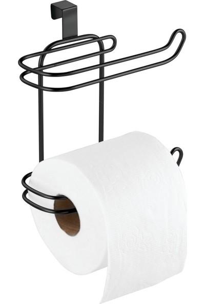 Bosphorus Tuvalet Kağıdı Standı Yedeklikli Asılabilir Özellikli Paslanmaz Çelik Banyo Aksesuarı