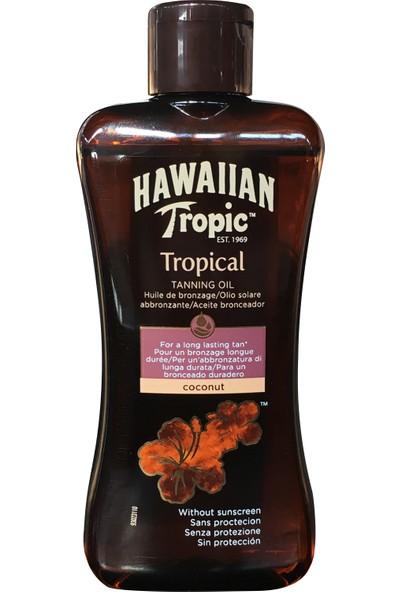 Hawaiian Tropic Yağ Coconut Spf0 200Ml