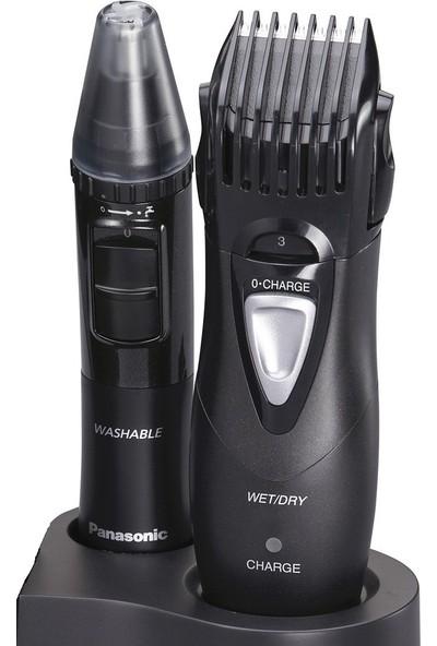Panasonic ER-GY10CM504 Islak/Kuru Şarjlı Saç/Sakal ve Vücut Tüyleri Bakım Seti