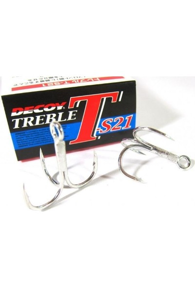 DECOY T-S21 BELLY HOOK #6 UCLU KANCA