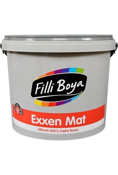 Filli Boya Exxen Mat Silikonlu Silinebilir Boya 15 Lt Beyaz