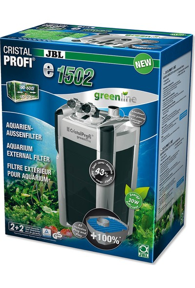 Jbl Cp E1502 Greenlıne Dış Filtre 1400L/S