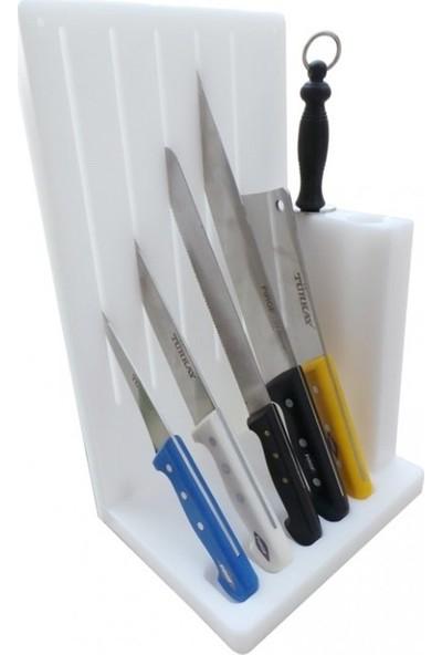 Bıçak Standı Polietilen Plastik Masat Bıçak İstif Rafı By