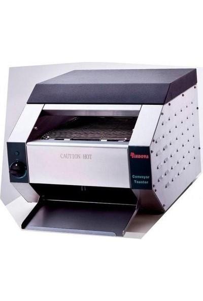 Sanayi Tipi Ekmek Kızartma Makinesi Konveyörlü Büyük Boy