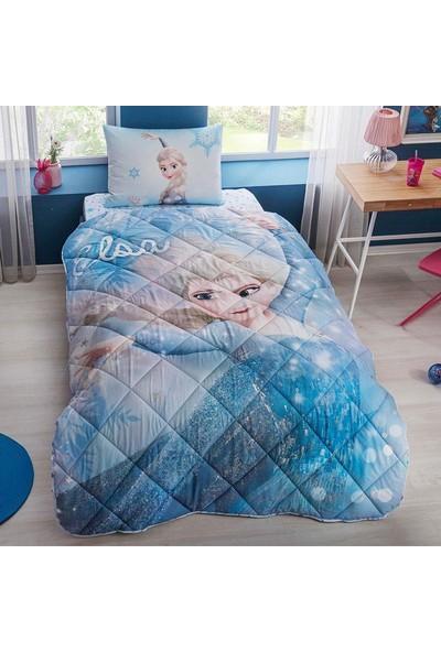 Taç Disney Frozen Yorgan Seti Yastık Hediyeli