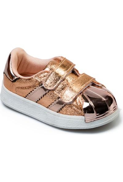 Flubber Kız Spor Ayakkabı Bronz 22023-266