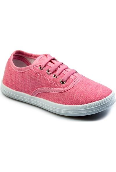 Flubber Kız Keten Ayakkabı Pembe 22280-018