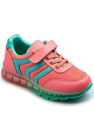 Flubber Kız Spor Ayakkabı Gül Kurusu 22509-047