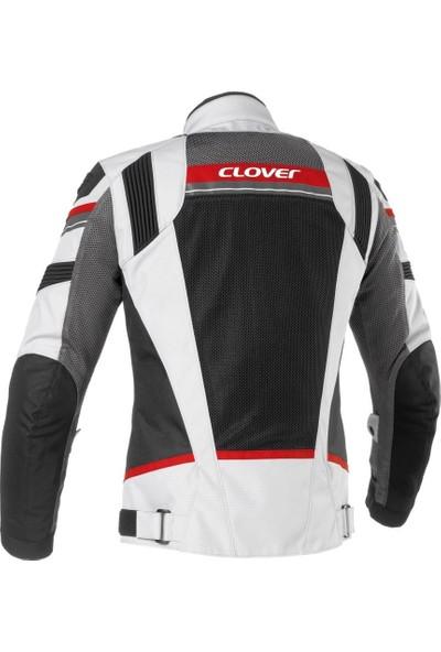 Clover Rainjet Wp Yazlik Gri/Kırmızı Ceket
