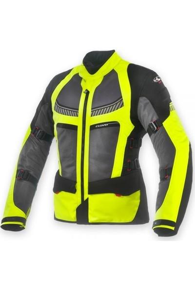 Clover Ventouring-2 Siyah/Neon Kadın Ceket
