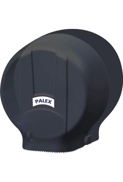 Palex 3448-S Standart Jumbo Tuvalet Kağıdı Dispenseri Siyah