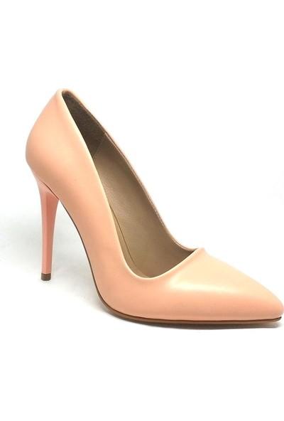 Shop And Shoes 164-2005 Kadın Stiletto Pudra