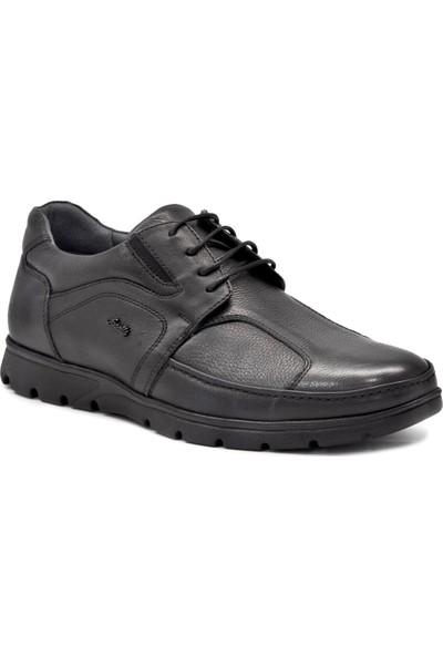 Forelli 32605 Siyah Erkek Ortopedik Ayakkabı