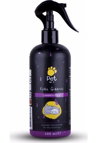 Pet Love Koku Giderici Lavanta Sprey 400 ml.