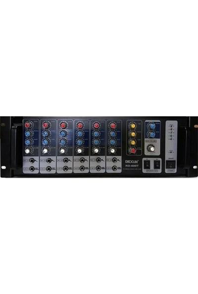 DEXUN RD-600T 100V 600W 1-16 ohm Usb/sd Dijital Reverb Cami Anfisi