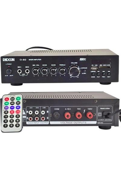DEXUN D-60 60W100V/4-16ohm Amfi
