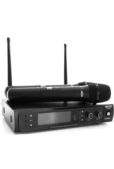 DEXUN D-550E Uhf Dijital İki Kanal Telsiz Mikrofon