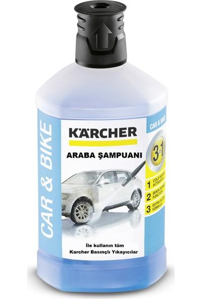 Karcher Basınçlı Yıkama Makinesi için 1 Litre 3in1 Araç Şampuanı