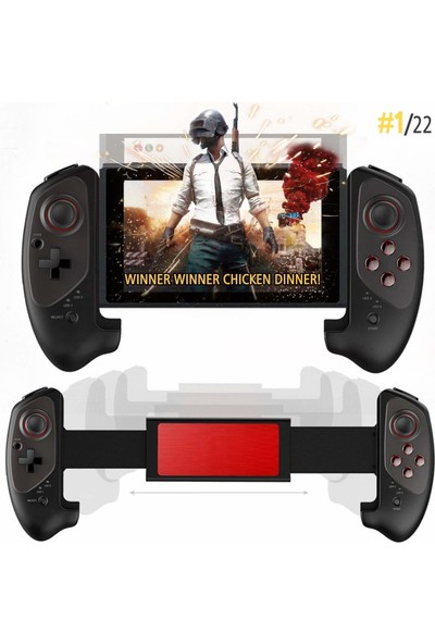 İpega 9083 Kablosuz Bluetooth Joystick Oyun Konsolu - Kolu Android-PC-Smart TV ile Uyumlu