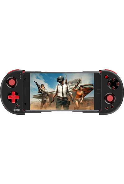 İpega 9087 Kablosuz Bluetooth Joystick Oyun Konsolu - Kolu Android-PC-Smart TV ile Uyumlu