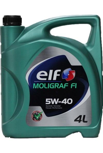 Elf Moligraf F1 5W-40 Motor Yağı ( Benzin, Dizel ) 4 lt ( Üretim Yılı:2019 )