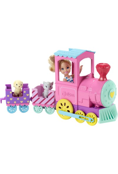 Barbie Brb Chelsea Ve Sevimli Treni