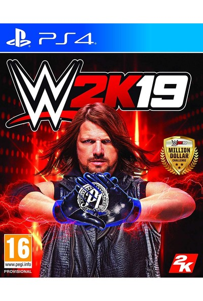 Sony PS4 Wwe 2K19 - W2K19
